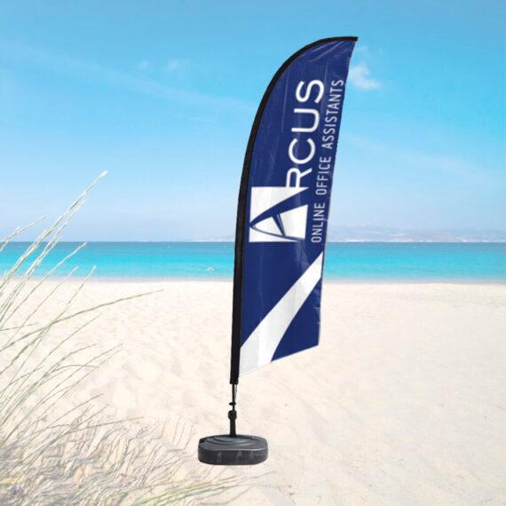 Εκτύπωση σημαια παραλίας
